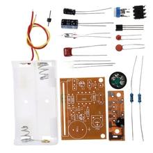 1Set Vibration touch alarm kit electronic production DIY electronic training kit KIT Parts Module Board