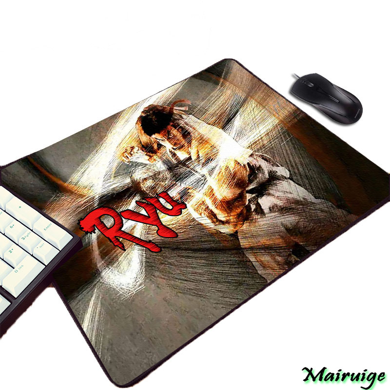 Mairuige So Cool Street Fighter Series Video Game Mousepad for Fighting Gaming Player Lovers Rubber Small Size Mini Pc Tablemat