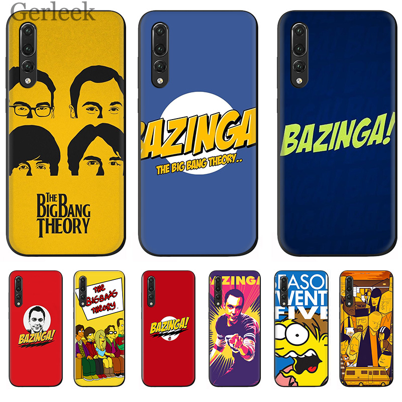 mobile <font><b>Phone</b></font> <font><b>Case</b></font> Bazinga The <font><b>Big</b></font> <font><b>Bang</b></font> Theory Tv Show For Huawei P Smart P30 P8 P9 P10 P20 Lite Pro Cover image