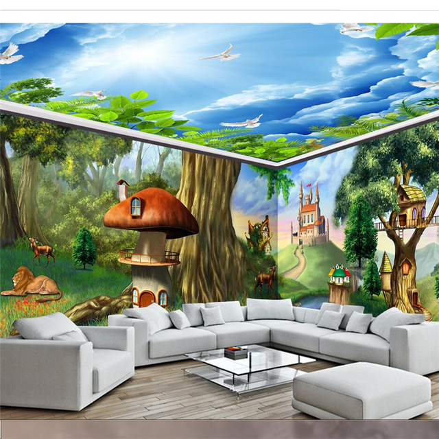 beibehang Custom wallpaper large scale mural painting extreme