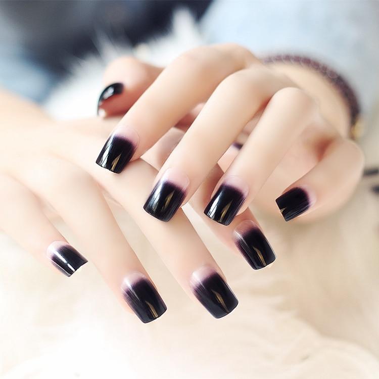 black square acrylic nails - photo #10