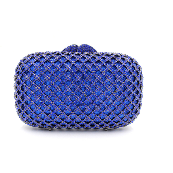 Здесь продается  New Fashion Women Solid red Minaudiere Bag Fashion Lady Rhinestones Diamonds Evening Bags Female blue Chain Hasp Party Bags  Камера и Сумки
