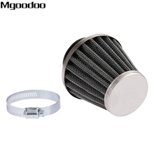 Mgoodoo 39mm Double Layer Steel Air Filter Gauze Clamp-on Cleaner Pods ATV Scooter Minibike Dirt Bike For Honda High Quality