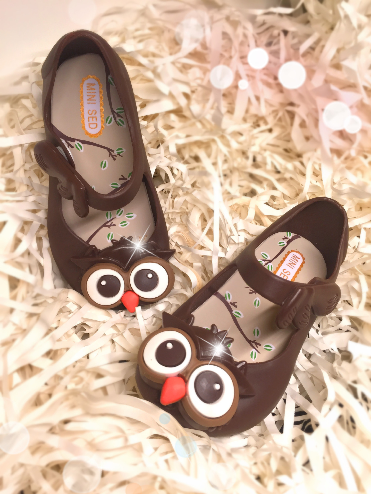 2016 Summer Owl Shoes Jellies Sandals Girls Shoes baby shoes in