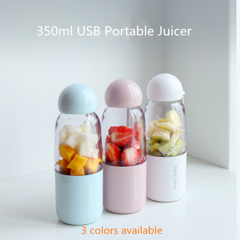 350ml Portable Electric USB Juicer Cup Rechargeable Orange Citrus Lemon Fruit Juicer Blender Juice Smoothie Maker electric press fruit juicer mini multifunction orange lemon squeezers citrus lime juice maker kitchen tools dropshipping