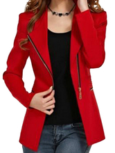 IMC women's long-sleeve short winter jacket zipper jackets female coat woman's clothing outwear