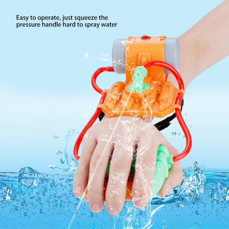 Beautiful Children Holiday Fashion New Blaster Water Gun Toy Baby Kids Colorful Trigger Fight Beach Squirt Toy Pistol Spray Water Gun Toys Relieving Heat And Thirst.