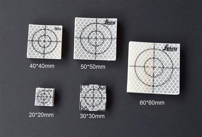 100pcs 60 x 60 mm Reflector Sheet Reflective Tape Target for total station 100pcs reflector sheet 60 x 60 mm 60x60 reflective tape target total station