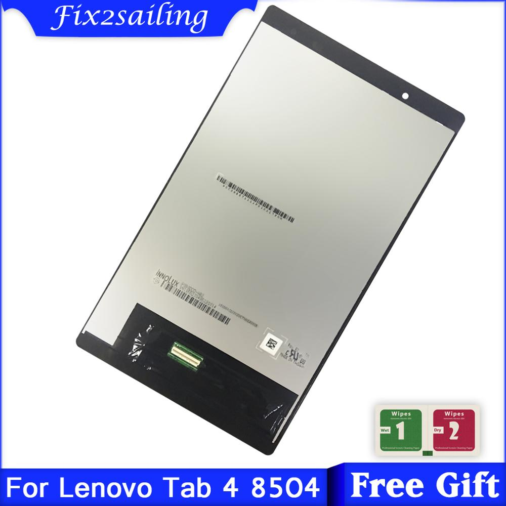 100% Tested LCDS For Lenovo Tab 4 8.0 8504 TB-8504X TB-8504F LCD Display + Touch Screen Digitizer Assembly Free Shipping