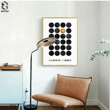 Be You Art Posters And Prints Wall Canvas Painting Pictures For Living Room Nordic Decoration