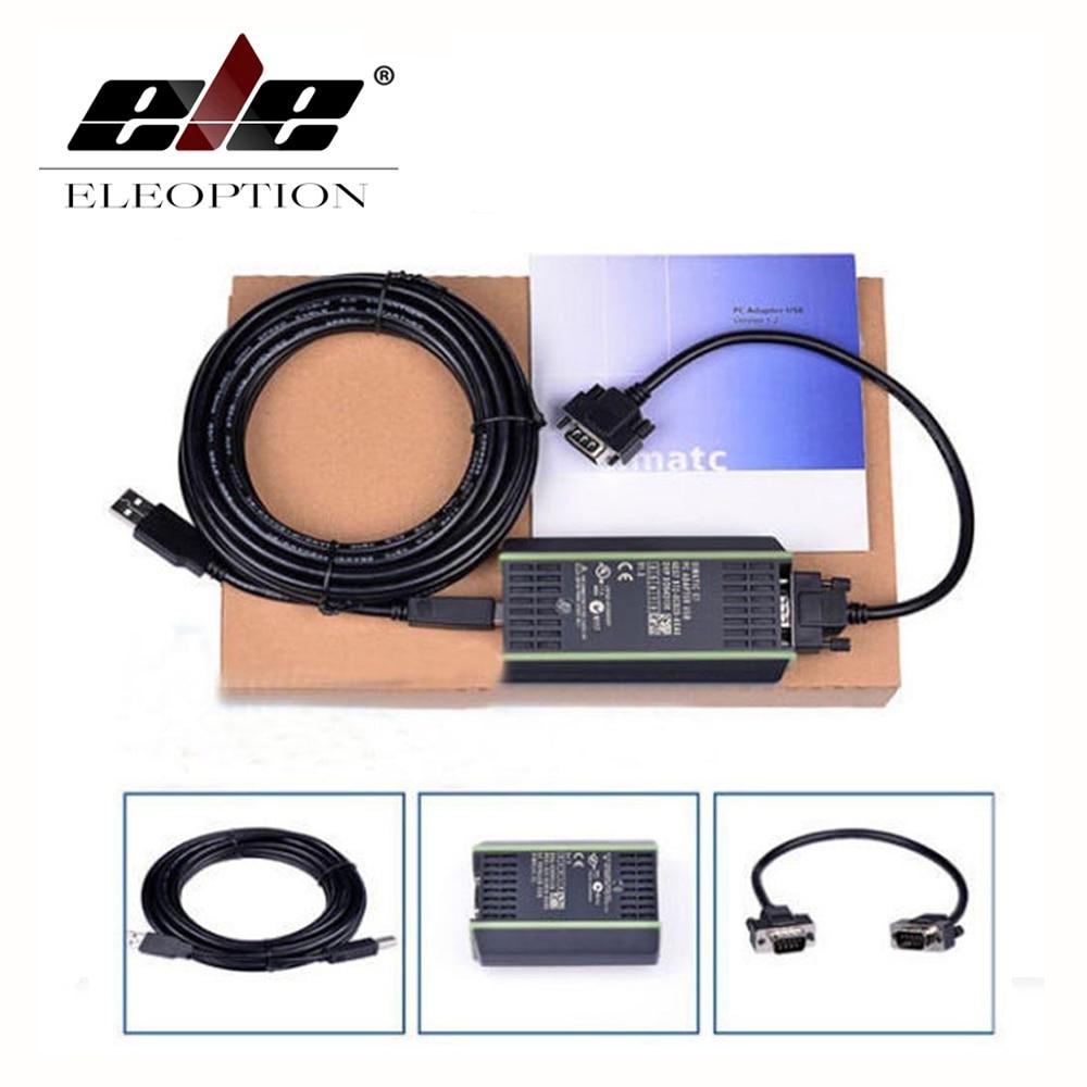 New PLC Cable for Siemens S7 200/300/400 6ES7 972 0CB20 0XA0 USB MPI+ PC USB PPI