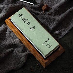 Image 4 - HEZHEN kuchnia ostrzałka kamień szlifierski diamentowa powierzchnia ostrzenia osełka nóż młynek do kuchni narzędzie z prowadnica kątowa