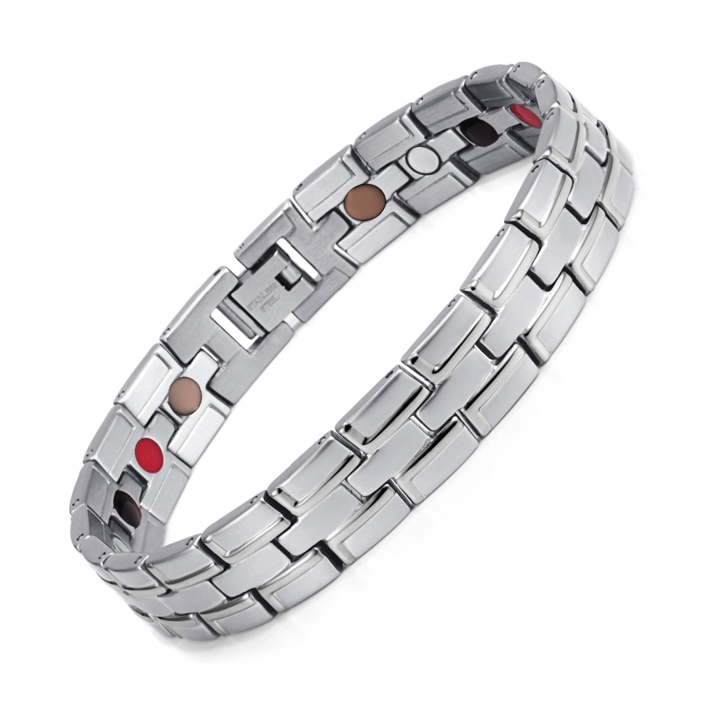 Jewelry & Access. ...  ... 704396466 ... 4 ... Healing Magnetic Bracelet Men/Woman 316L Stainless Steel 4 Health Care Elements(Magnetic,FIR,Germanium) Bracelet Hand Chain 2020 ...