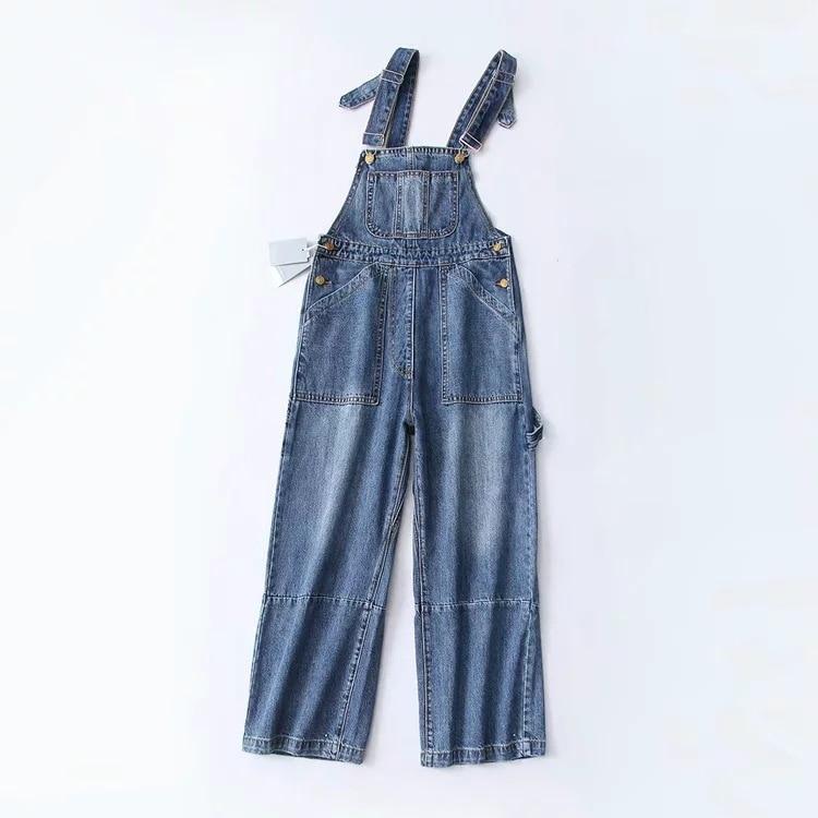 Completa Otoño Ac214 Patchwork Dark Longitud Blue Nueva Streetwear Alta Lavado De Botón 2018 Suelto Invierno ewq Cintura Luz Denim 8Ynaq5xCxw