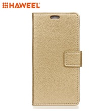 HAWEEL Phone Case For NOKIA 3.1 PLUS Litchi Texture Horizontal Flip Leather With Holder & Photo Frame Double-sided Buckle