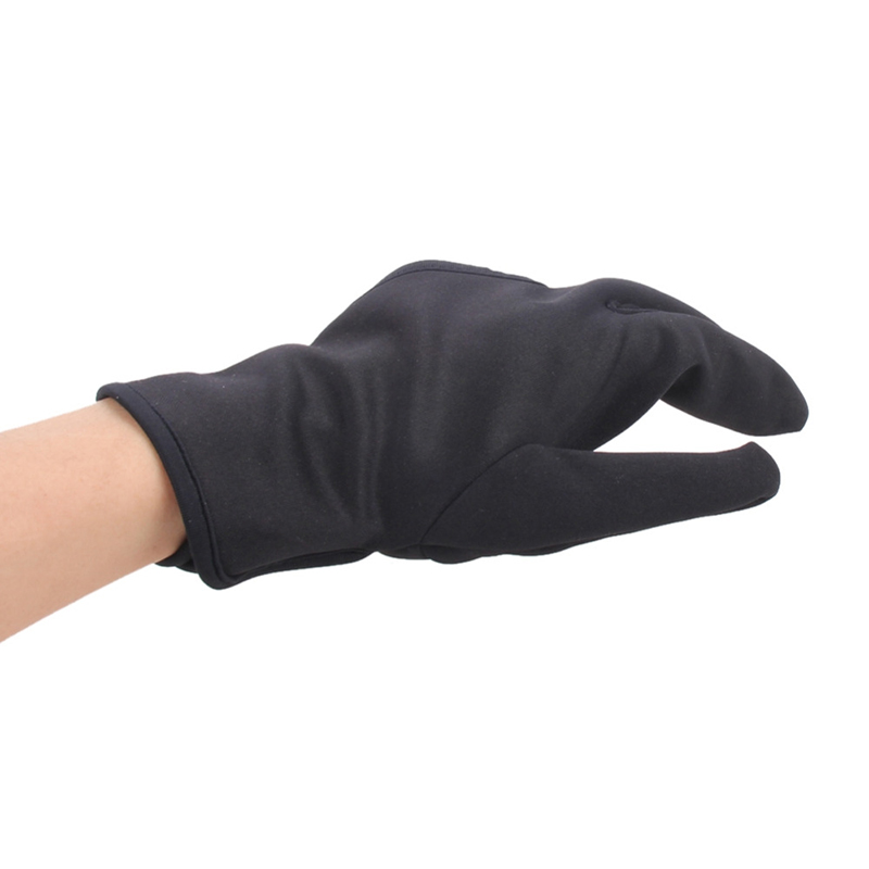 Hairdressing Three fingers anti-hot glove For Flat Iron Heat Resistant Hair Straightening Curling Glove Styling Household Gloves6
