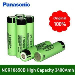 Image 1 - 100% Nieuwe Originele NCR18650B 3.7 v 3400 mah 18650 Lithium Ion Oplaadbare Batterij Voor Panasonic Zaklamp Batterijen