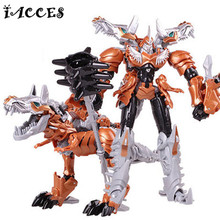 NEW Movie 4 Boy Toys Cool Anime Dragon Model Deformation Robot Action Figures Car Plastics Toy