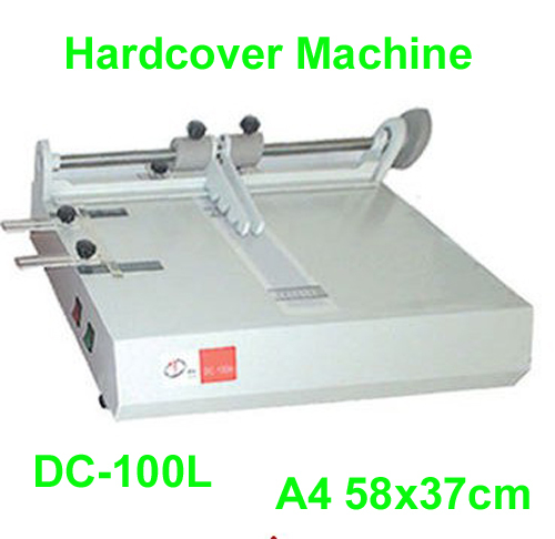 Fast Free shipping 110V/220V DC-100L A4 Hardcover Making Machine Book Cover Machine 58x37cm