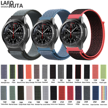 Laforuta 22mm Noylon Band for Samsung Gear S3 Frontier Gear S3 Classic Galaxy Watch 46mm Strap Quick Release Sport Watch Band