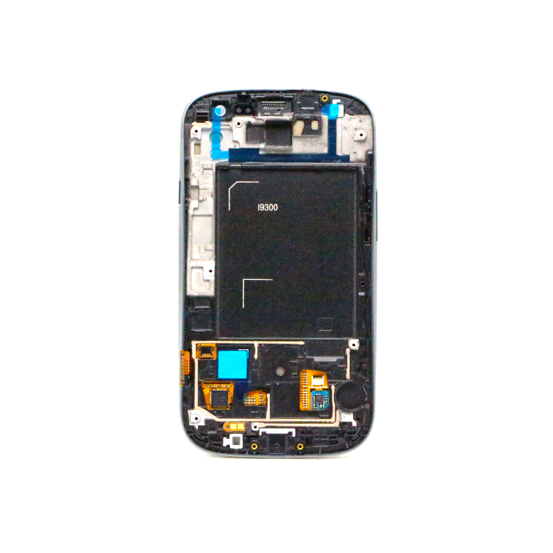 i9300 lcd For SAMSUNG GALAXY S3 i9300 LCD Display Touch Screen Digitizer Full Assembly Home Botton
