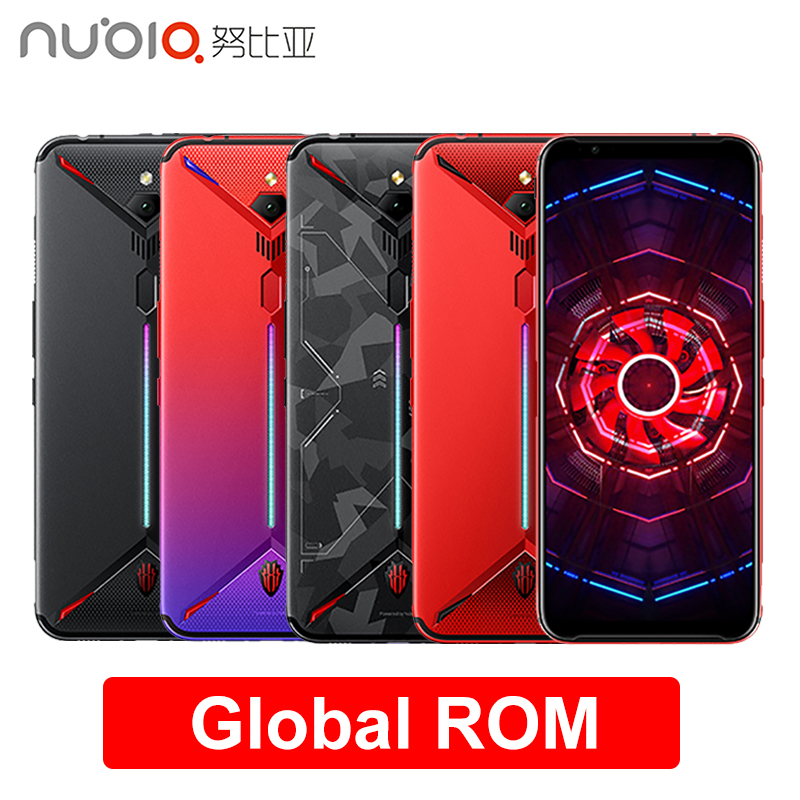 Original Nubia Red Magic 3 Mobile Phone 6.65 inch 6G/8G/12G RAM 64G/128G/256G ROM Snapdragon 855 Android9.0 48.0MP Samrtphone