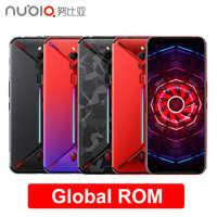 "ZTE Nubia Red Magic 3 Mobile Phone 6.65"" Snapdragon 855 Octa-Core Fingerprint Front 16MP Rear 48MP 6GB 64GB 5000mAh Game Phone"