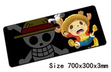 anime One Piece mouse pad 700x300x3mm pad to mouse notbook computer mousepad Beautiful gaming padmouse gamer to laptop mouse mat