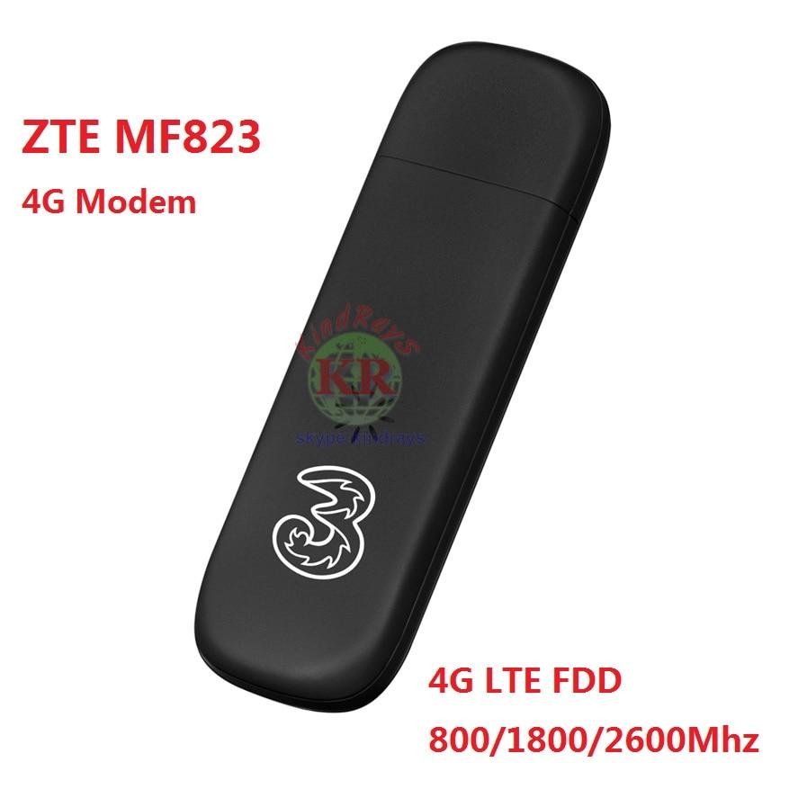 ZTE MF823 MF823D 4G LTE FDD 800/1800/2600Mhz Wireless Modem USB Stick Dongle Data Card Mobile Broadband mf820 mf821 mf79 mf910