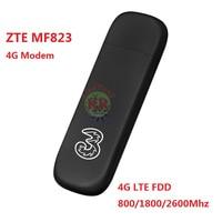 ZTE MF823 MF823D 4G LTE FDD 800 1800 2600Mhz Wireless Modem USB Stick Dongle Data Card