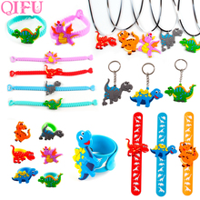 Dinosaurs Party Balloons Dinosaur Decoration Happy Birthday Party Decorations Kids Favors GIfts Jungle Party Decor Accessories happy birthday dinosaurs party favors for kids cute plush dinosaurs key chain pendant gift for boy girls party decoration