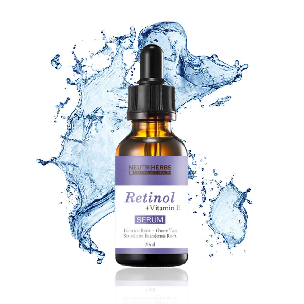 Neutriherbs Wajah Facial Serum Retinol + Vitamin E Serum Anti Kerut Anti Jerawat Anti Aging 30 Ml