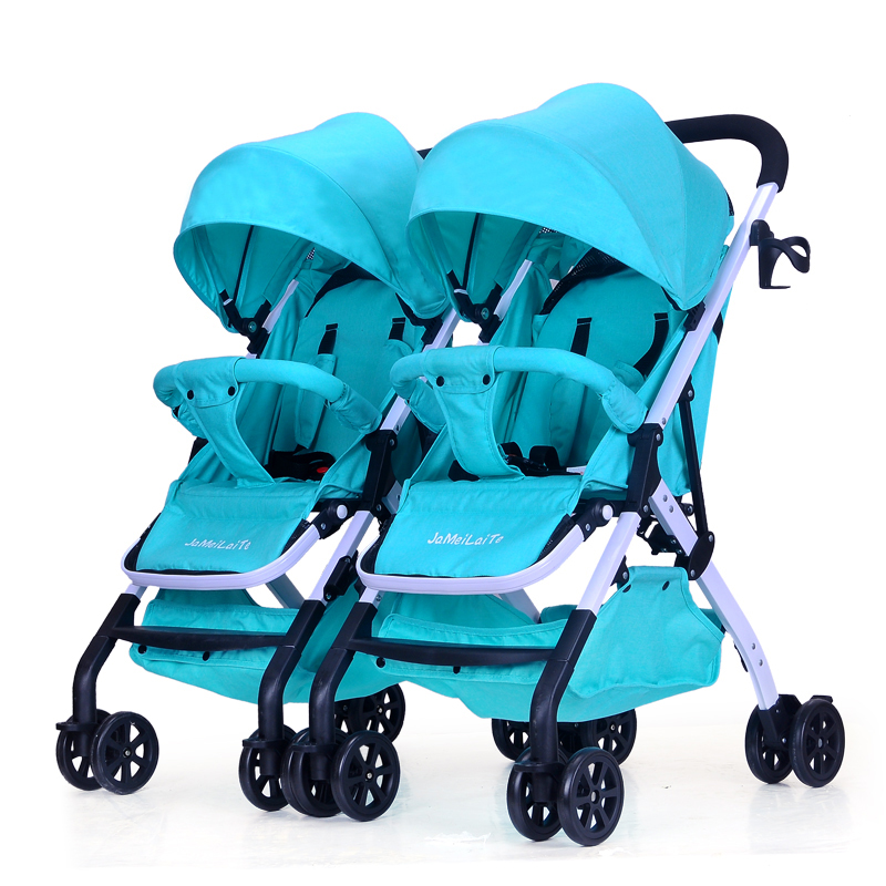 Twin stroller detachable stroller detachable double stroller for twin baby