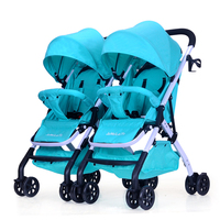 Twin stroller detachable stroller detachable double stroller for twin baby