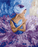 Framless Arrival Unique Gift Digital Oil Painting On Canvas Painting By Numbers Decorative Picture Abstract Dancer