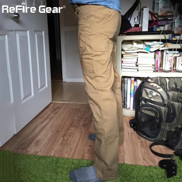 IX9 City Tactical Cargo Pants Men Combat SWAT Army Military Pants Cotton Many Pockets Stretch Flexible Man Casual Trousers XXXL 4