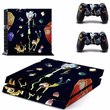 PS4 Skin Vinyl Decal Deadpool Stickers for Sony Playstation 4 Console and Two Controller Cover Skins