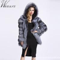 Wmwmnu с длинным рукавом зимняя женская высокая имитация искусственного меха пальто куртка меховое пальто женская одежда Толстая теплая лиси