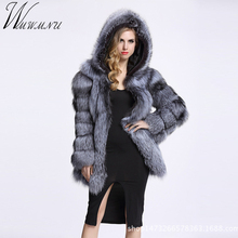 Wmwmnu long Sleeve Winter Women High Imitation Faux Fur Coat Jacket Fur Coat Women Clothes thick warm Fox Fur Coat plus Size 4XL