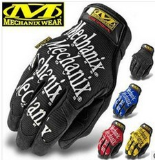 Breath Warm MECHANIX Tactical Gloves Army Military Outdoor Men's Full Finger Motorcycle Movement Bike Work Leather Gym Mittens(China)