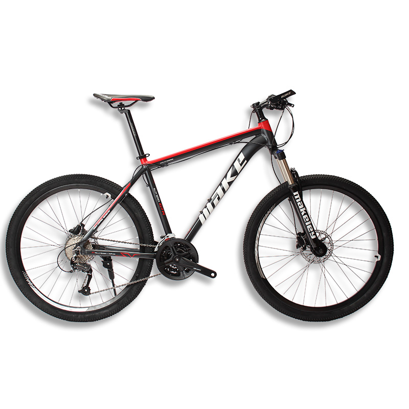 MAKE Mountain Bike Aluminum Frame 17 19 Shimano 27 Speed 26 27,5 Wheel Hydraulic/Mechanical BrakeMAKE Mountain Bike Aluminum Frame 17 19 Shimano 27 Speed 26 27,5 Wheel Hydraulic/Mechanical Brake