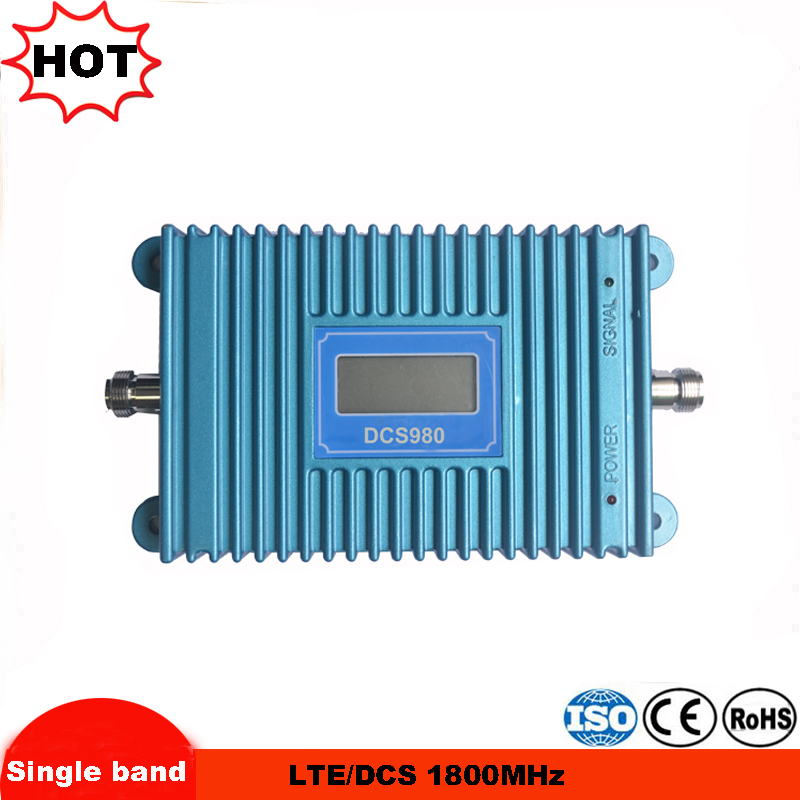 LCD Display GSM DCS Repeater FDD Mobile Phone Booster 4G 1800mhz Repetidor Cellular Signal Booster Amplifier