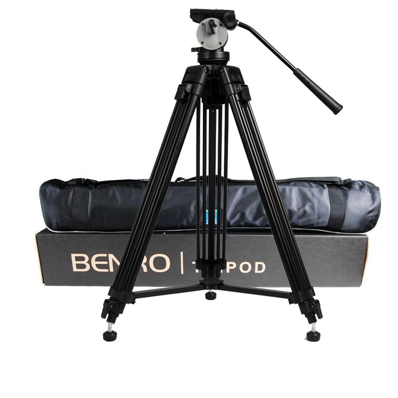 Prix pour En gros DHL Pro BENRO KH25N KH-25N Vidéo Caméra Trépied Professionnel Hydraulique Chef Alliage De Magnésium Trépied + Vidéo Trépieds Sac