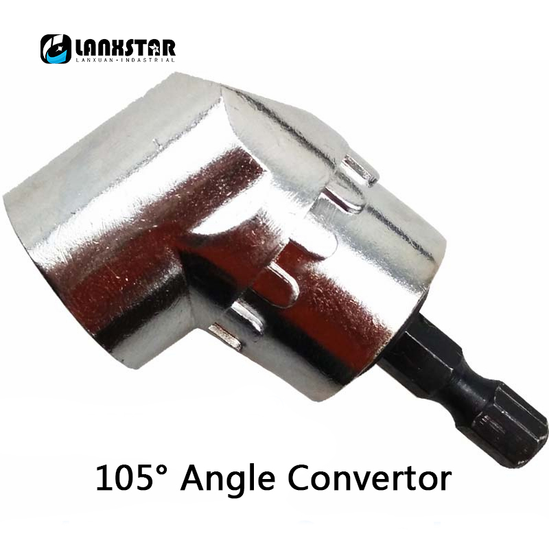 US $5 66 |Screwdriver Hex Convert Head 105 Degrees Bend Drill Extension  Converting Wrench Heads Rod -in Tool Parts from Tools on Aliexpress com |