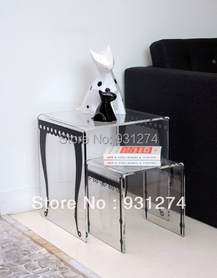Acrylic Side End Table/Perspex Plexiglass Coffee Table/Bedside Table/Acrylic  Furniture In Coffee Tables From Furniture On Aliexpress.com   Alibaba Group Part 85