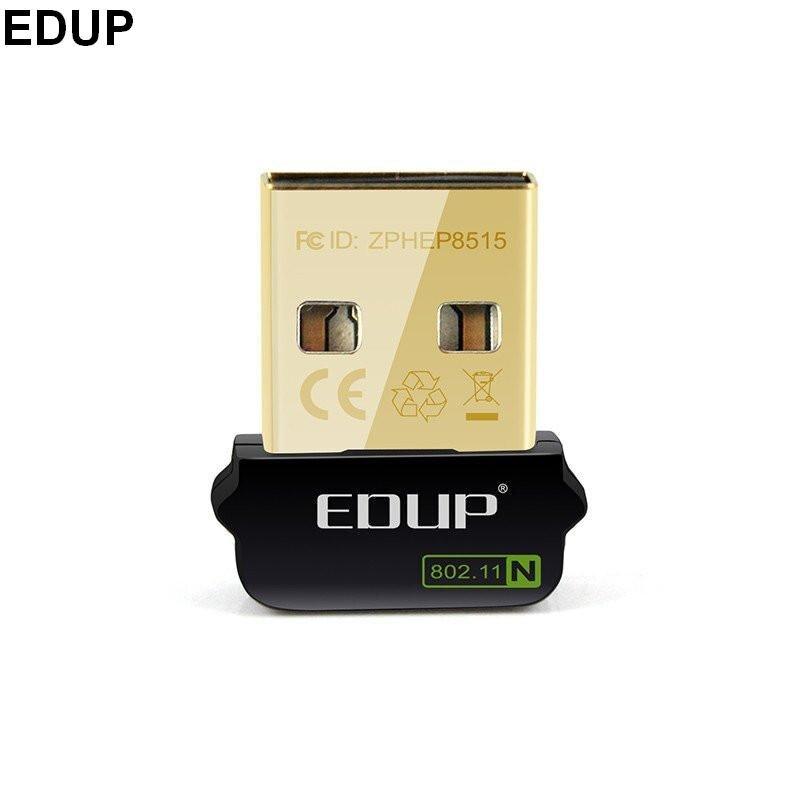 Mini USB 150Mbps 802.11n wifi Adapter wireless Network CARD EDUP EP-N8508GS RTL8188CUS Chipset For Raspberry Pi 512M Model B