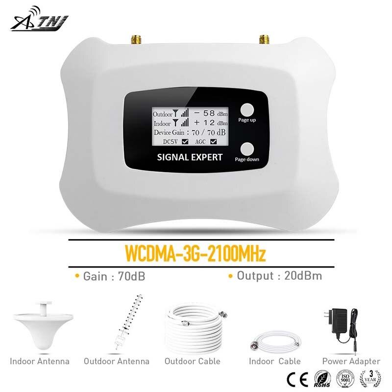Amplificateur cellulaire chaud 3G WCDMA 2100 MHz 3G amplificateur de Signal Mobile 3G répéteur de signal pour MTS Beeline Vodafone EU Assia Africa RU