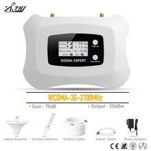 Горячая 3g сотовый телефон усилители домашние WCDMA 2100 МГц Мобильный усилитель сигнала ретранслятор для МТС Билайн Vodafone RU