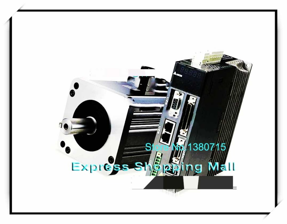 ECMA-E31305ES+ASD-A0421-AB 220V 0.5KW 500W 2.39NM 2000RPM 130mm AC Servo Motor & Drive kits 2500ppr new brand ab series ac servo drive asd a0421 ab 1ph 220v 400w 2 6a encoder resolution 2500ppr