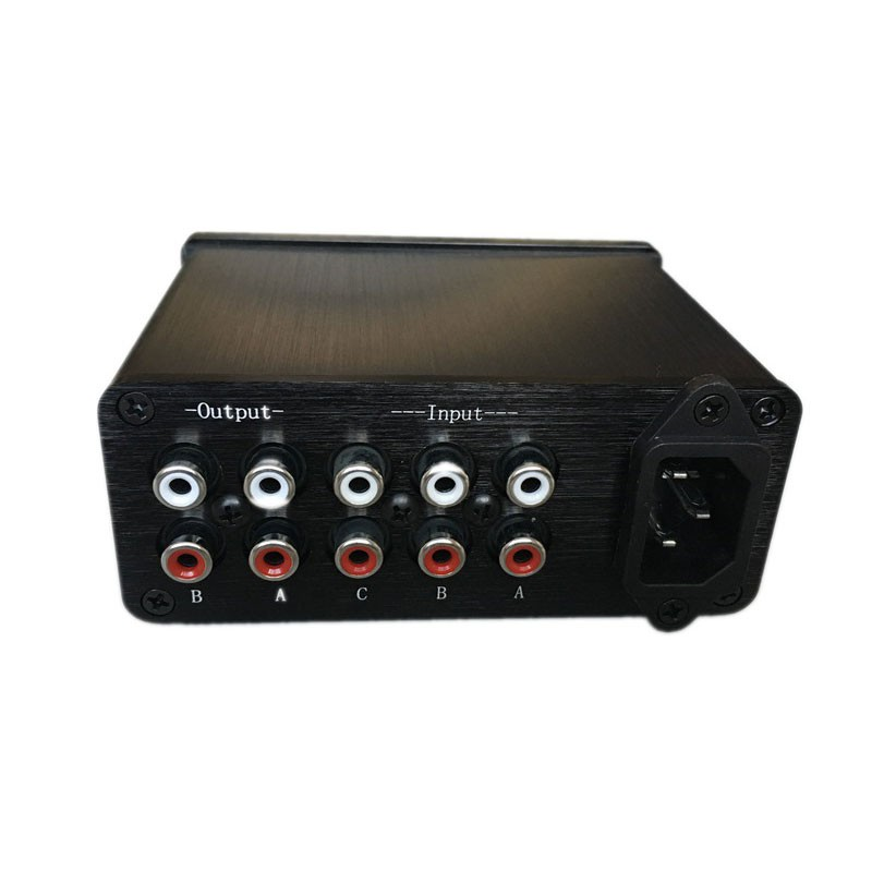 L.HifiSelector Hifi Passive Selector Preamplifier Audio Selector Preamp Volume Adjust 3 in 2 out boss audio ls 2 line selector pedal line selector and input output router